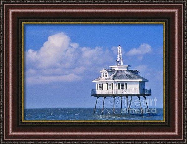 Nancy Hoyt Belcher - Middle Bay Lighthouse Print
