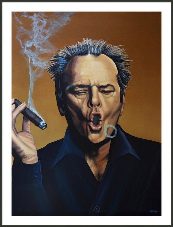 Paul  Meijering - Jack Nicholson Print