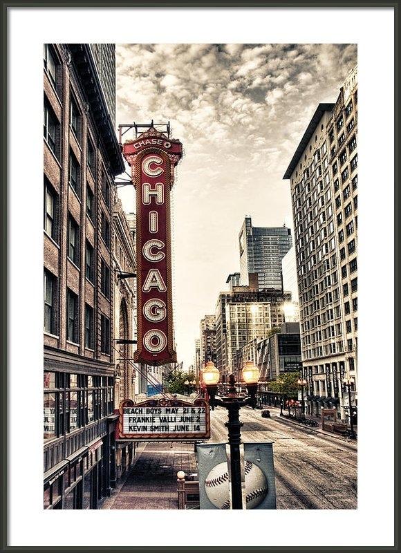 Tammy Wetzel - Chicago Theater Print