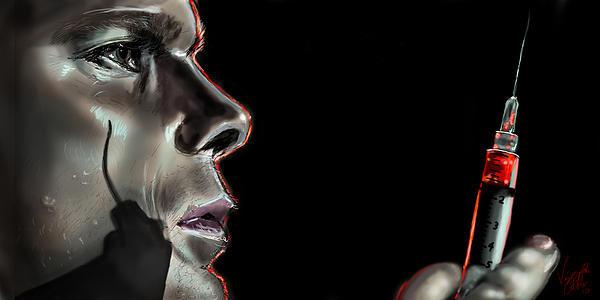 Vinny John Usuriello - Darkly Dreaming Dexter Print