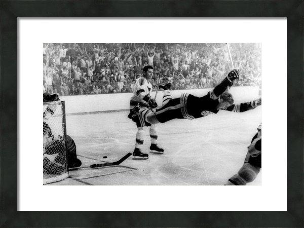 Sanely Great - Bobby Orr Goal Celebratio... Print