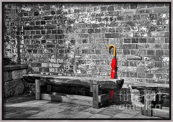 Kaye Menner - The Red Umbrella 2 Print