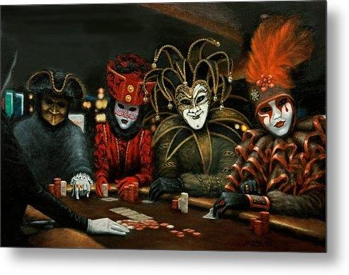 Jason Marsh - Poker Face III Print