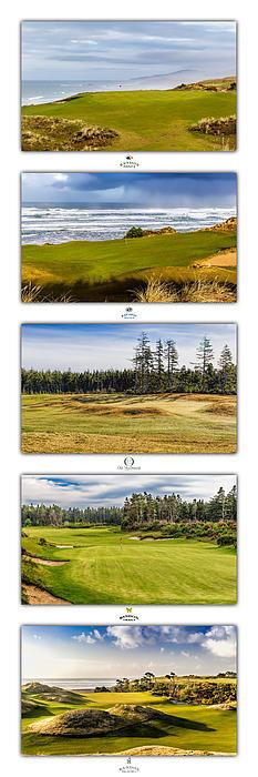 Mike Centioli - Bandon Dunes Golf Courses Print