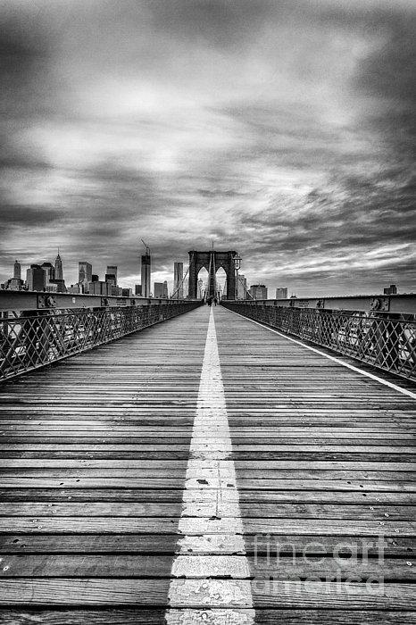 John Farnan - The road to tomorrow Print