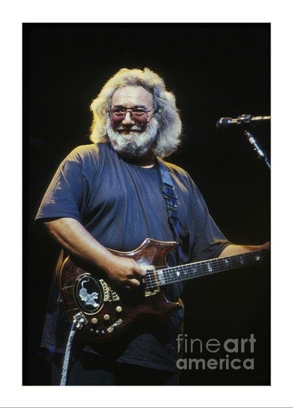 Front Row Photographs  - Grateful Dead - Uncle Jer... Print