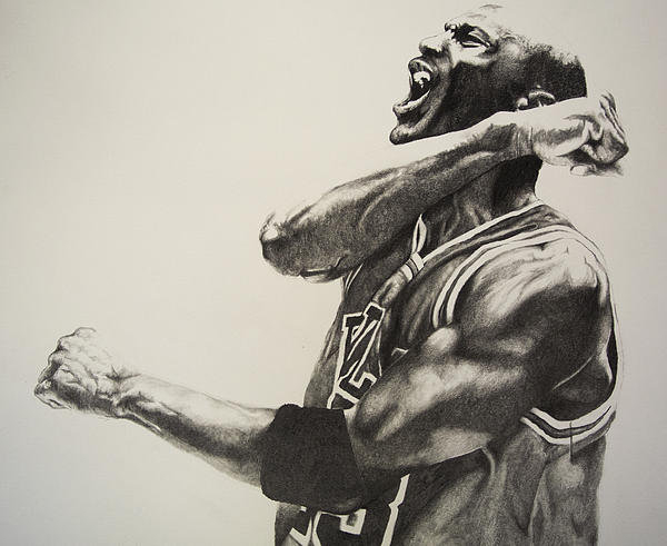 Jake Stapleton - Michael Jordan Print