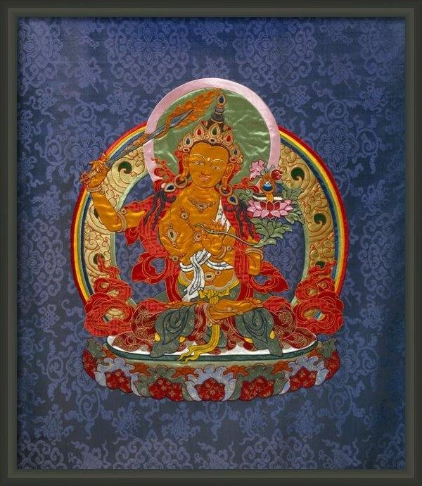Leslie Rinchen-Wongmo - Manjushri Print