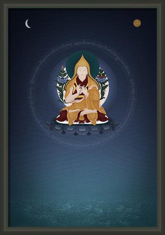 Ben Christian - Lama Tsongkhapa - Ganden ... Print