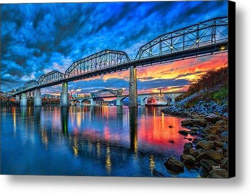 Steven Llorca - Chattanooga Sunset 3 Print