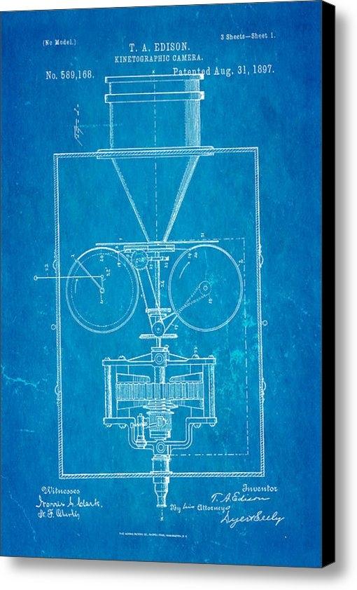 Ian Monk - Edison Motion Picture Cam... Print