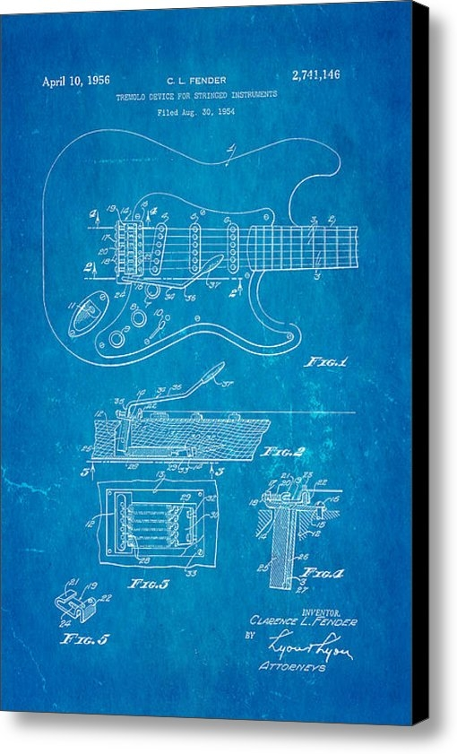 Ian Monk - Fender Stratocaster Tremo... Print