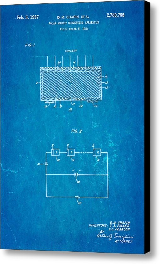 Ian Monk - Chapin Solar Cell Patent ... Print