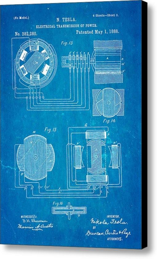 Ian Monk - Tesla Electrical Transmis... Print