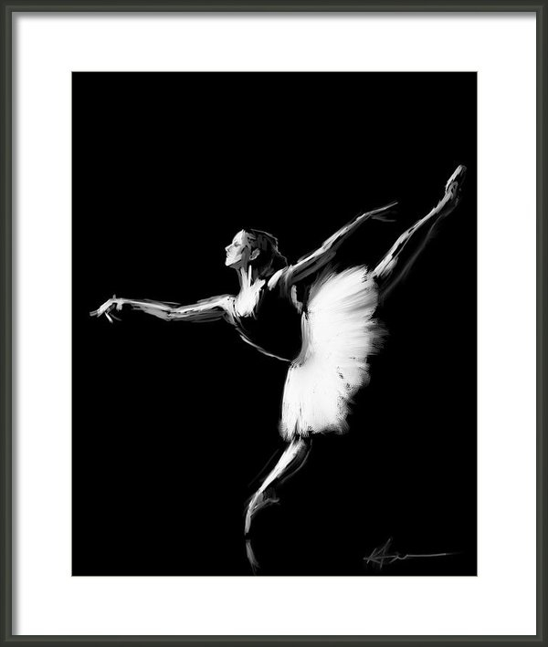 H James Hoff - Dancer Print