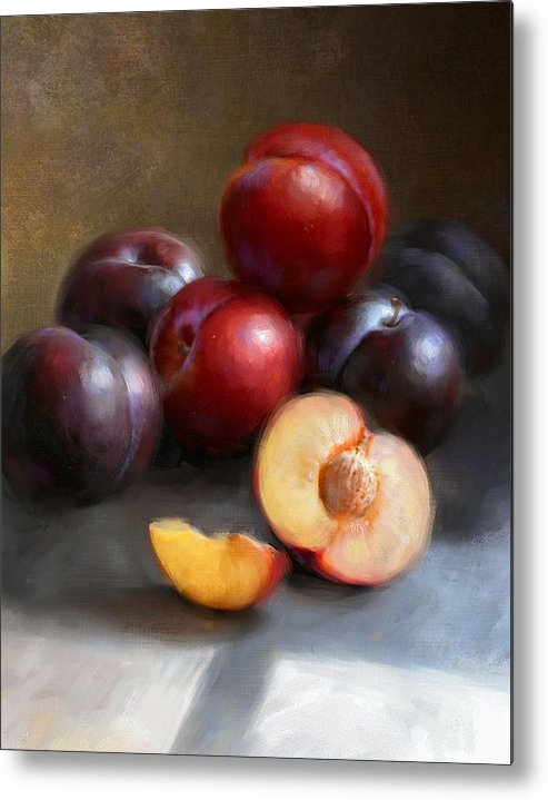 Robert Papp - Red and Black Plums Print
