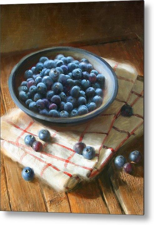 Robert Papp - Blueberries Print