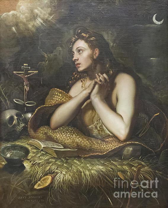 Stefano Baldini - The penitent Magdalene by... Print
