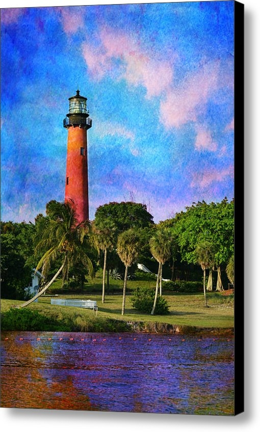 Laura  Fasulo - Jupiter Inlet Lighthouse Print