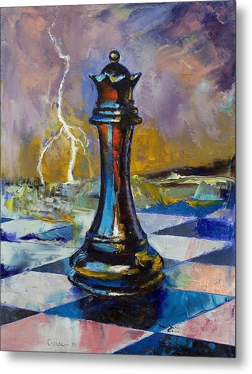Michael Creese - Queen of Chess Print