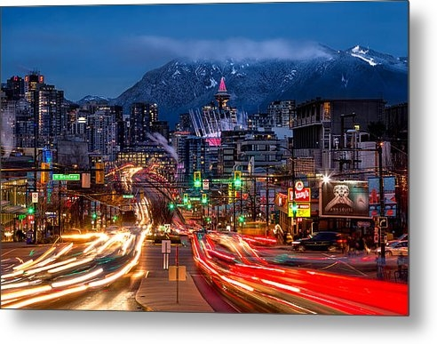 Alexis Birkill - West Broadway and Cambie Print