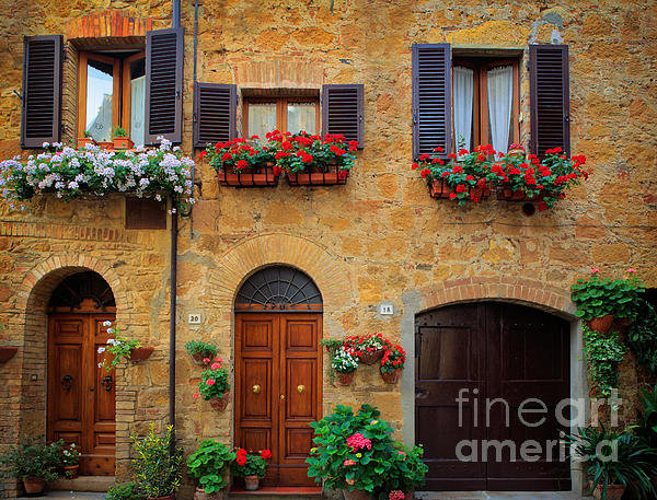 Inge Johnsson - Tuscan Homes Print