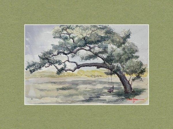 Daniel  Adams - Tree Swing Print