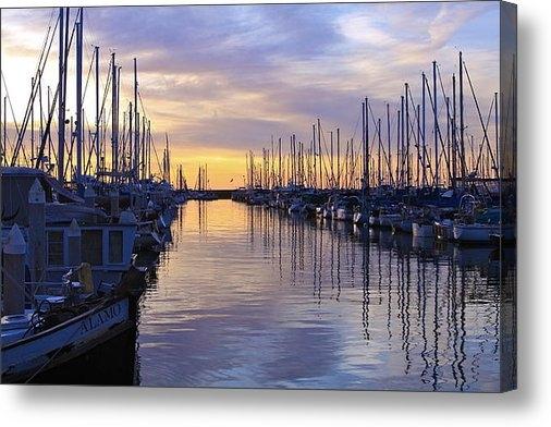 Steve Barr - Santa Barbara Sunrise Print