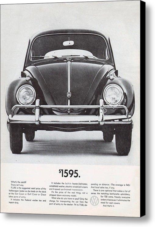 Nomad Art And  Design - Volkswagen Beetle Print