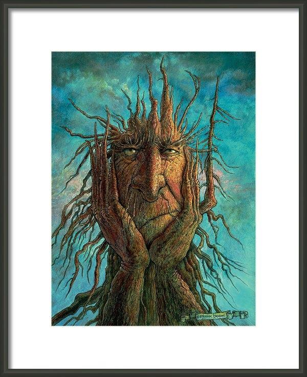 Frank Robert Dixon - Lightninghead Print