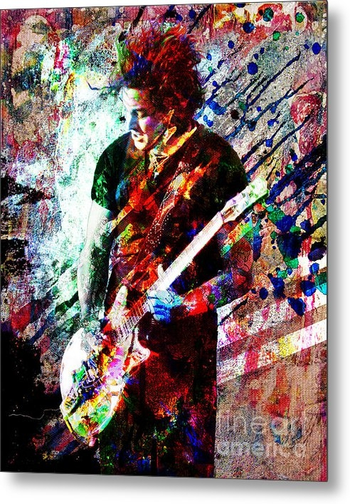 Ryan Rabbass - Jack White Original Paint... Print