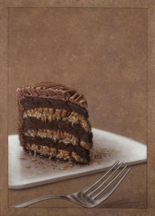 James W Johnson - Let us eat cake Print