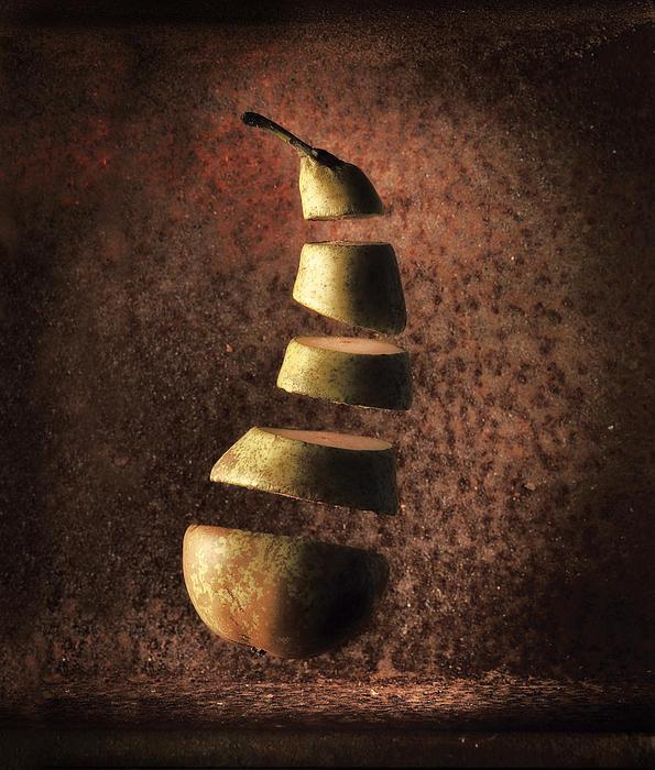 Dirk Ercken - Sliced up pear Print