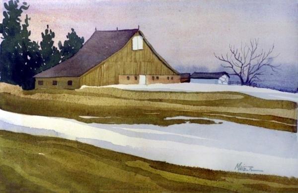 Donald Maier - Late Winter Melt Print