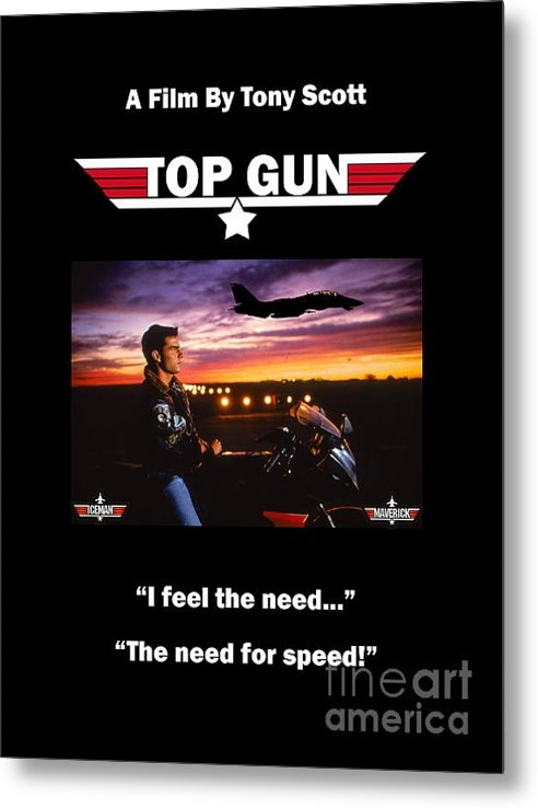 Lloyd Goldstein - Movie Poster Top Gun Print