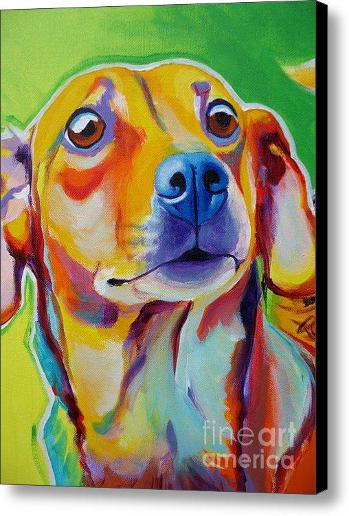 Alicia VanNoy Call - Chiweenie - Little Dog Print