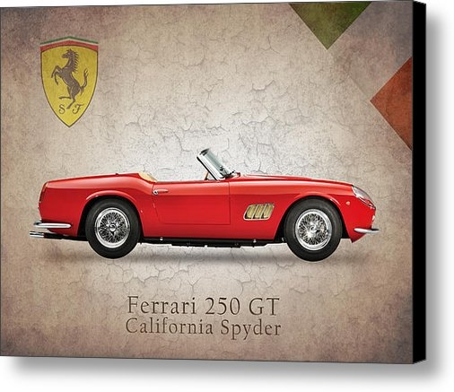 Mark Rogan - Ferrari 250 GT 1960 Print