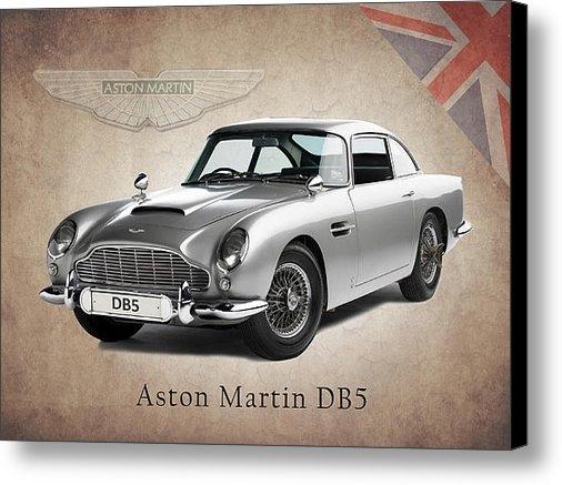 Mark Rogan - Aston Martin DB5 Print