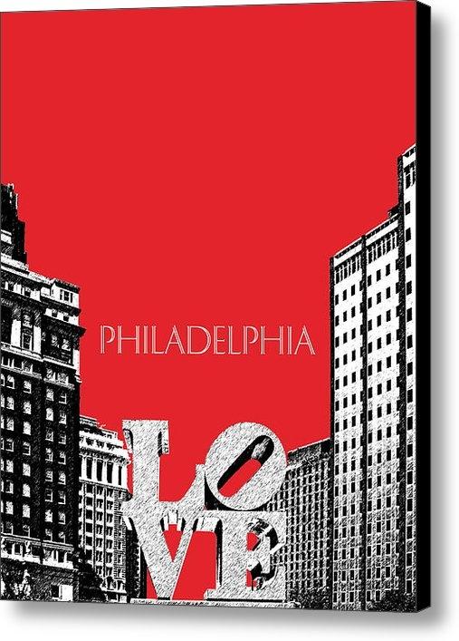 DB Artist - Philadelphia Skyline Love... Print