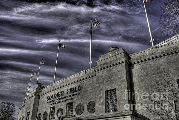 David Bearden - South end Soldier Field Print