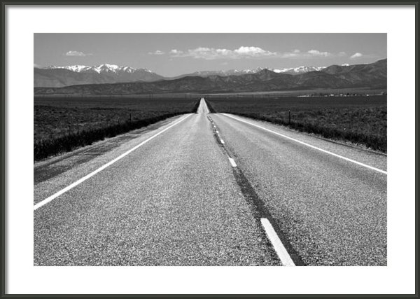 Link Jackson - The Lonely Road Print