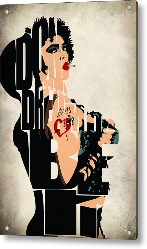 Ayse Deniz - The Rocky Horror Picture ... Print