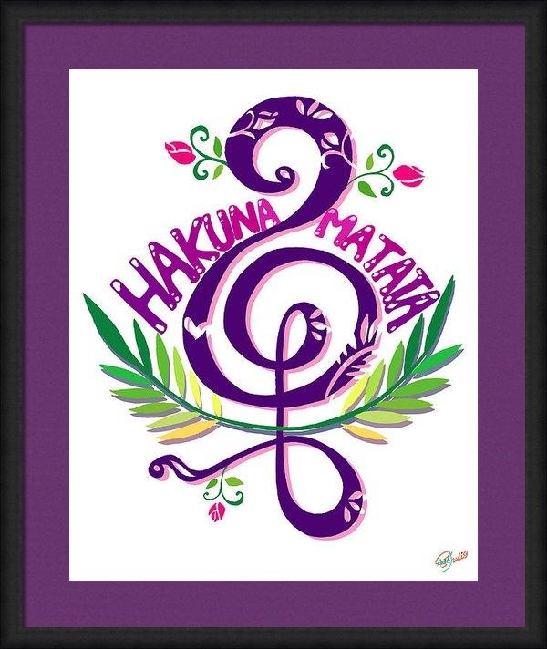 Ariel T - Hakuna Matata Print