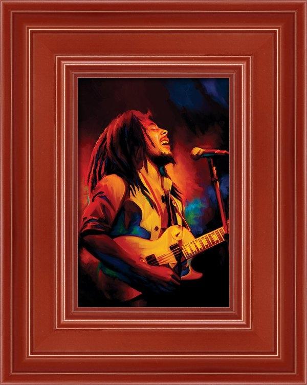Sheraz A - Bob Marley Artwork Print