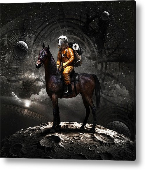 Vitaliy Gladkiy - Space tourist Print