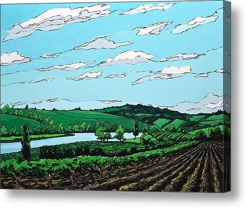 John Gibbs - Landscape 108 Print