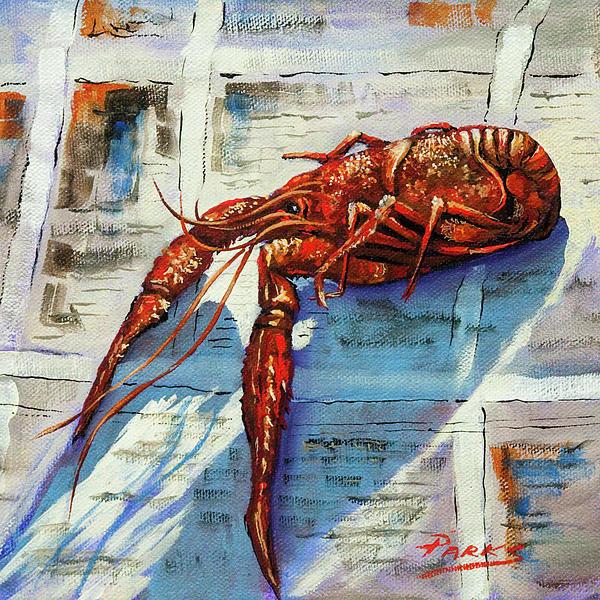 Dianne Parks - Big Red Print