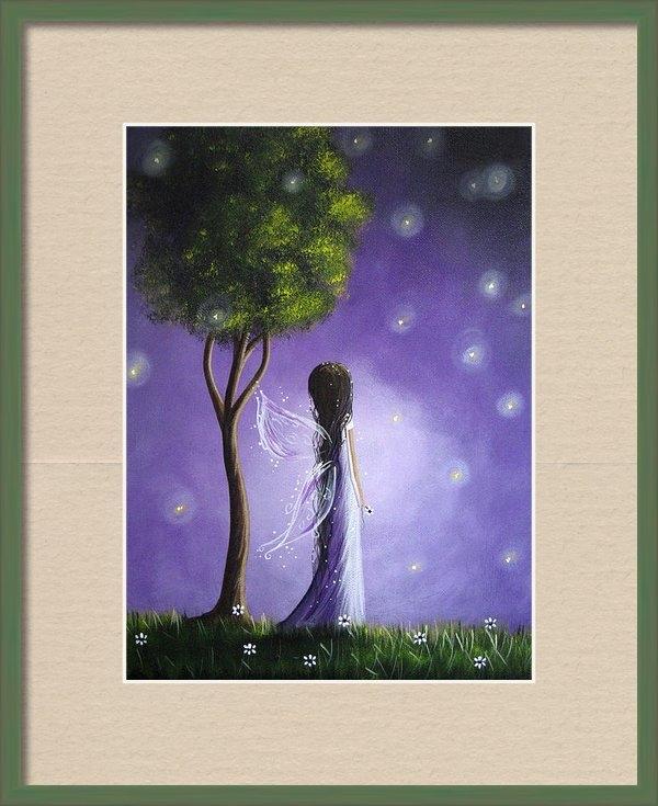 Shawna Erback - Firefly Fairy by Shawna E... Print