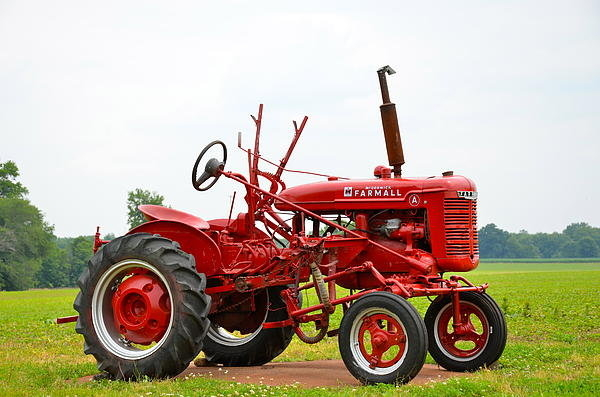 Sean Sweeney - Lil Red Tractor Print