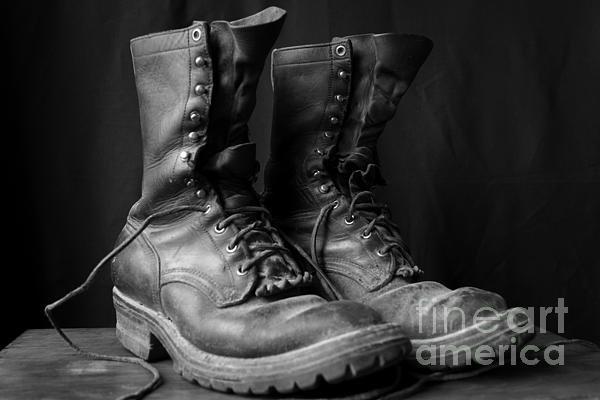Kerri Mortenson - Wildland Fire Boots Still... Print